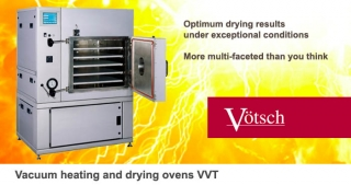 Vacuum heating drying ovens VVT