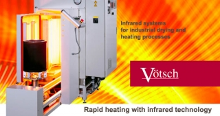 Infrared systems industrial drying heating processes
