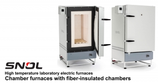 Chamber furnaces with fiber-insulated chambers