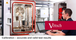Calibration – accurate and valid test results, Votsch industrial ovens