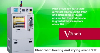 Cleanroom heating drying oven VTF