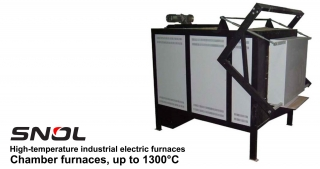 High-temperature industrial electric furnaces – Chamber furnaces
