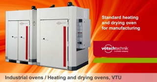 Industrial, heating and drying ovens, VTU