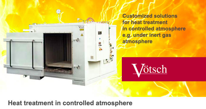 Heat treatment in controlled atmosphere