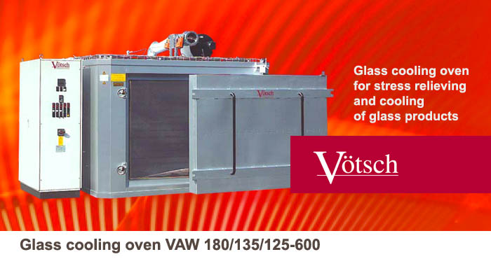Glass cooling oven VAW 180-135-125-600