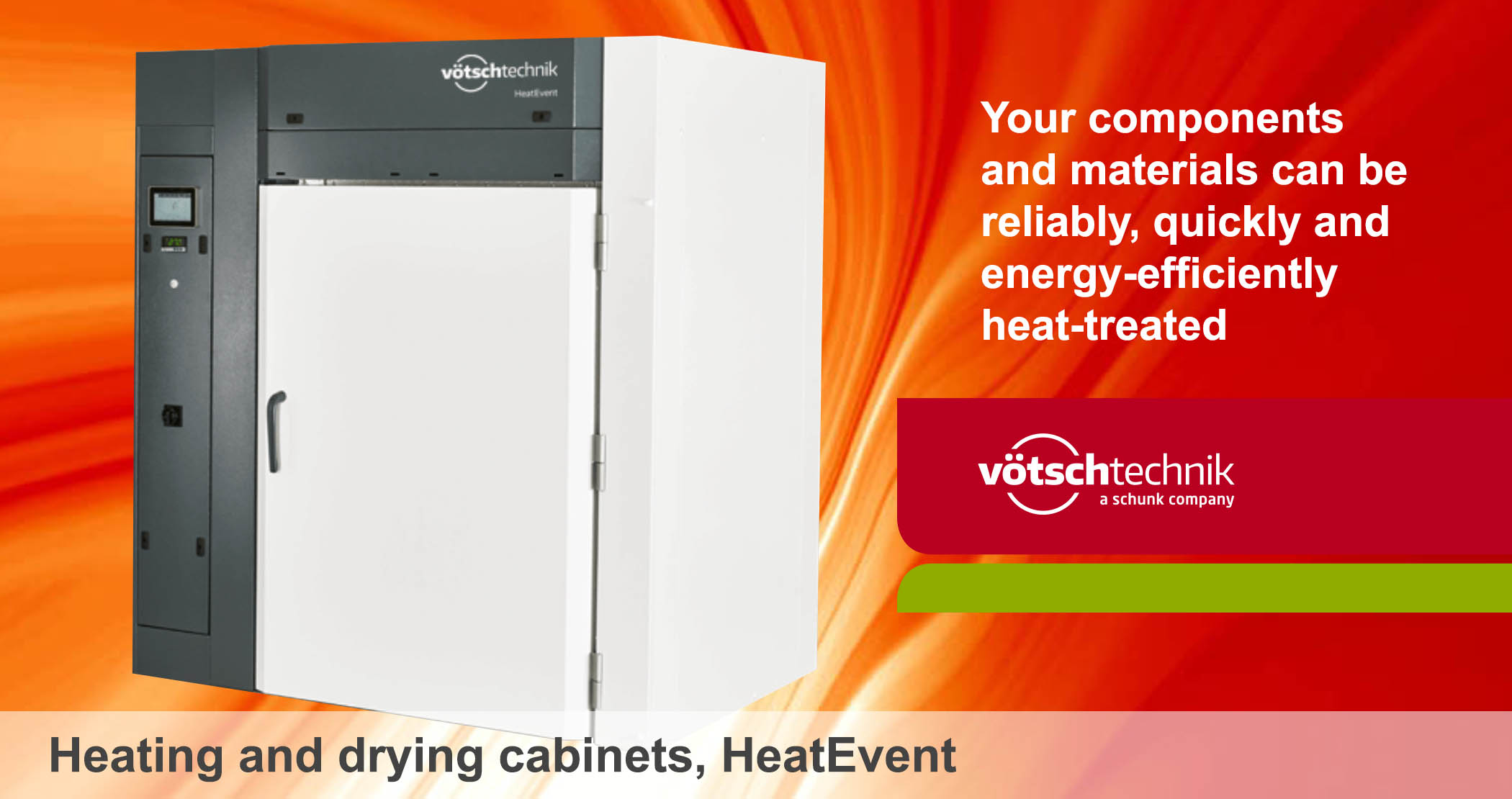 HeatEvent, heating and drying cabinets
